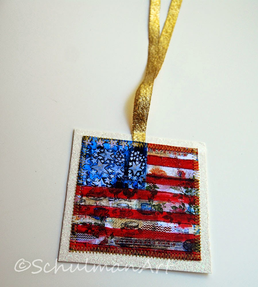 july 4th gift | american flag art | citizenship gift