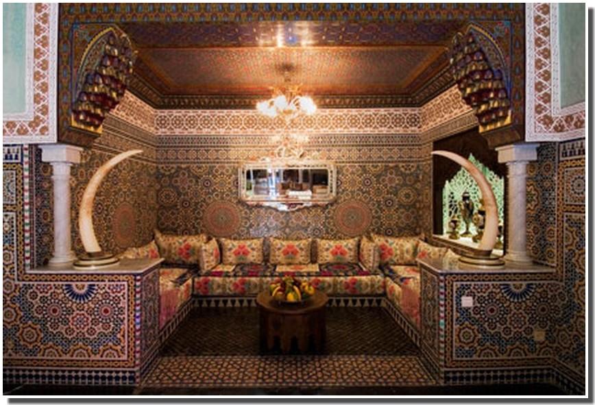 Nassima Home: Salon arabe émirati