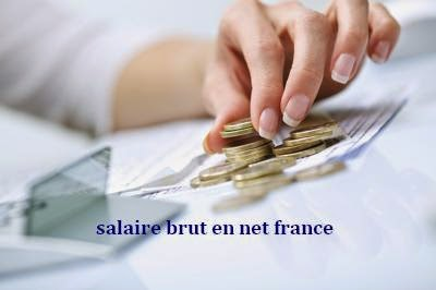 salaire brut en net france