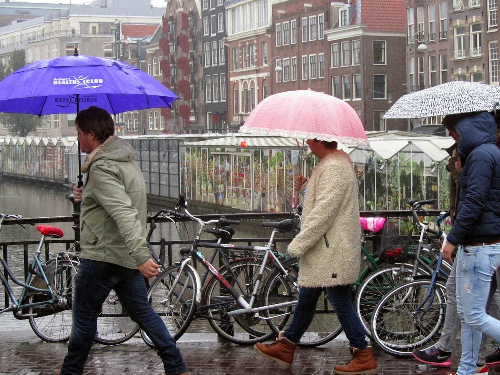 three umbrellas