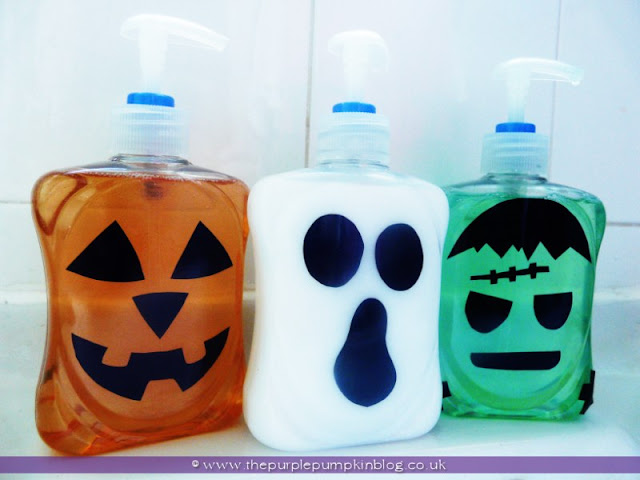 Halloween Handwash {Crafty October} at The Purple Pumpkin Blog