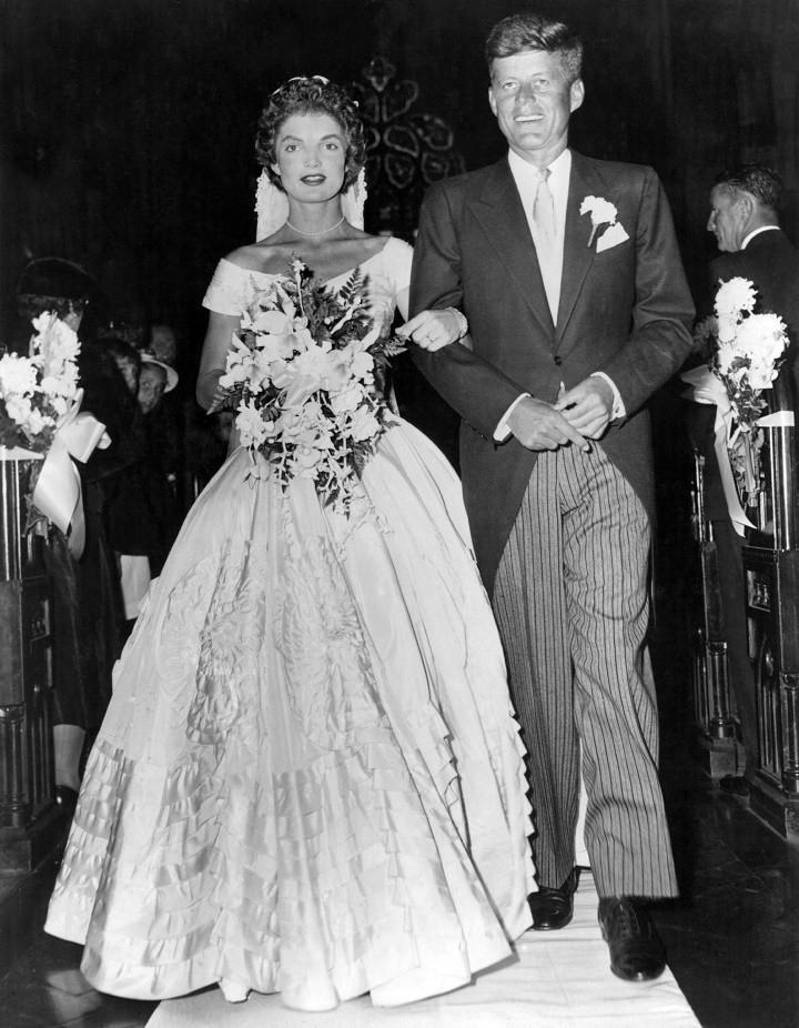 Jackie O Style Wedding Dress 11 Spectacular Senator John Fitzgerald Kennedy