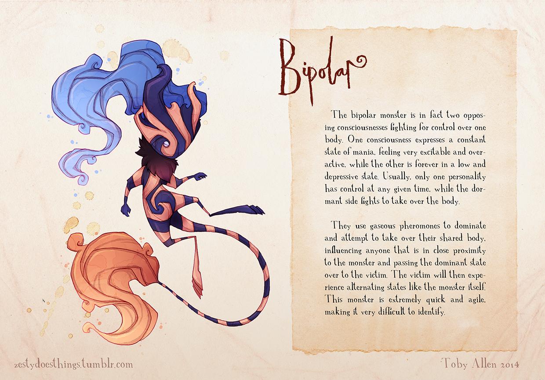 04-Bipolar-Disorder-Toby-Allen-Monster-Illustrations-to-Embody-Mental-Illness-www-designstack-co