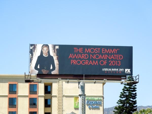 American Horror Story Asylum Emmy 2013 billboard