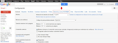 reenviar correo de gmail a outlook
