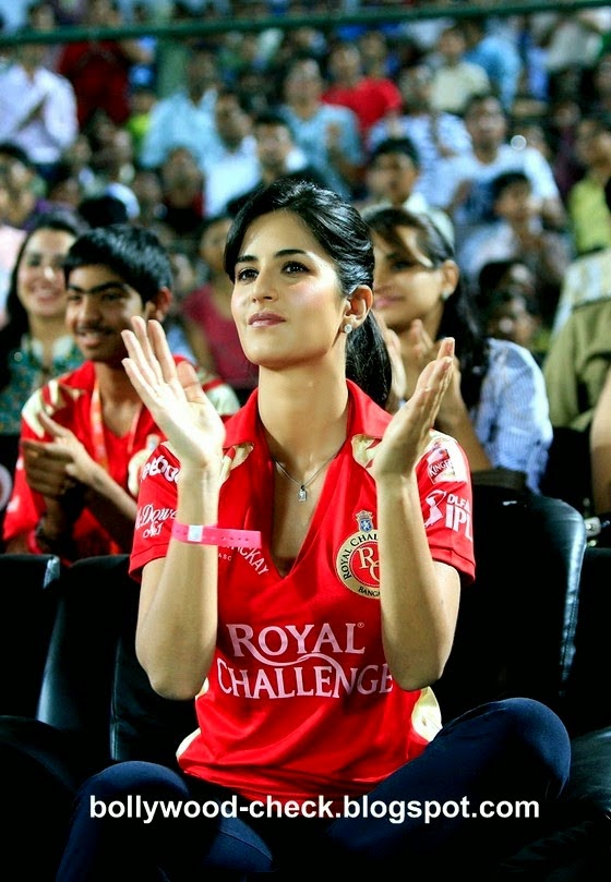 Katrina Kaif Bollywood Celebrity Clothing in IPL 2014