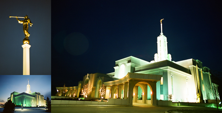 Mount Timpanogos Utah Temple, February 22, 2002