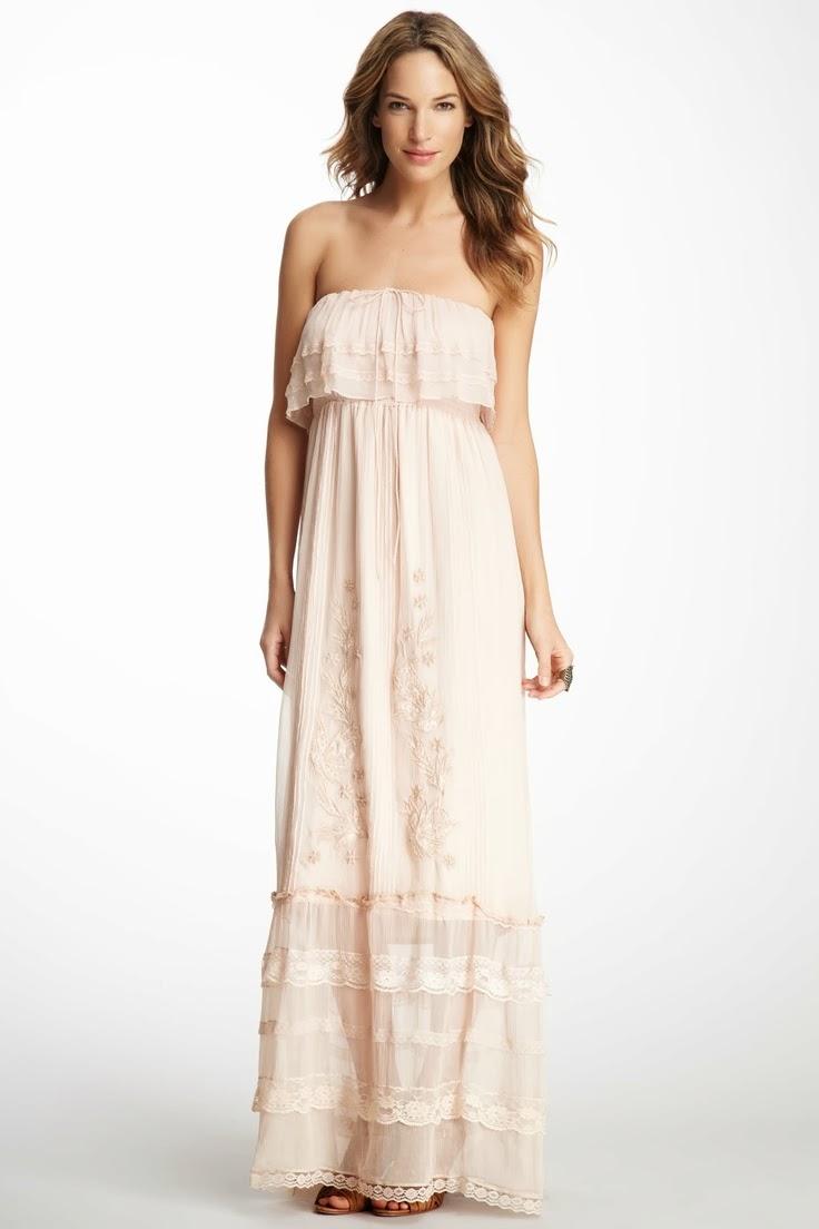 A Lovely maternity long dress