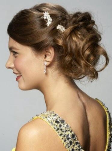 Catalogo De Peinados Para Fiesta - Fotos Moda peinados ¡para ir de fiesta! Semirecogido