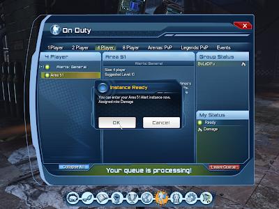 DC Universe Online - Area 51 Instance Ready
