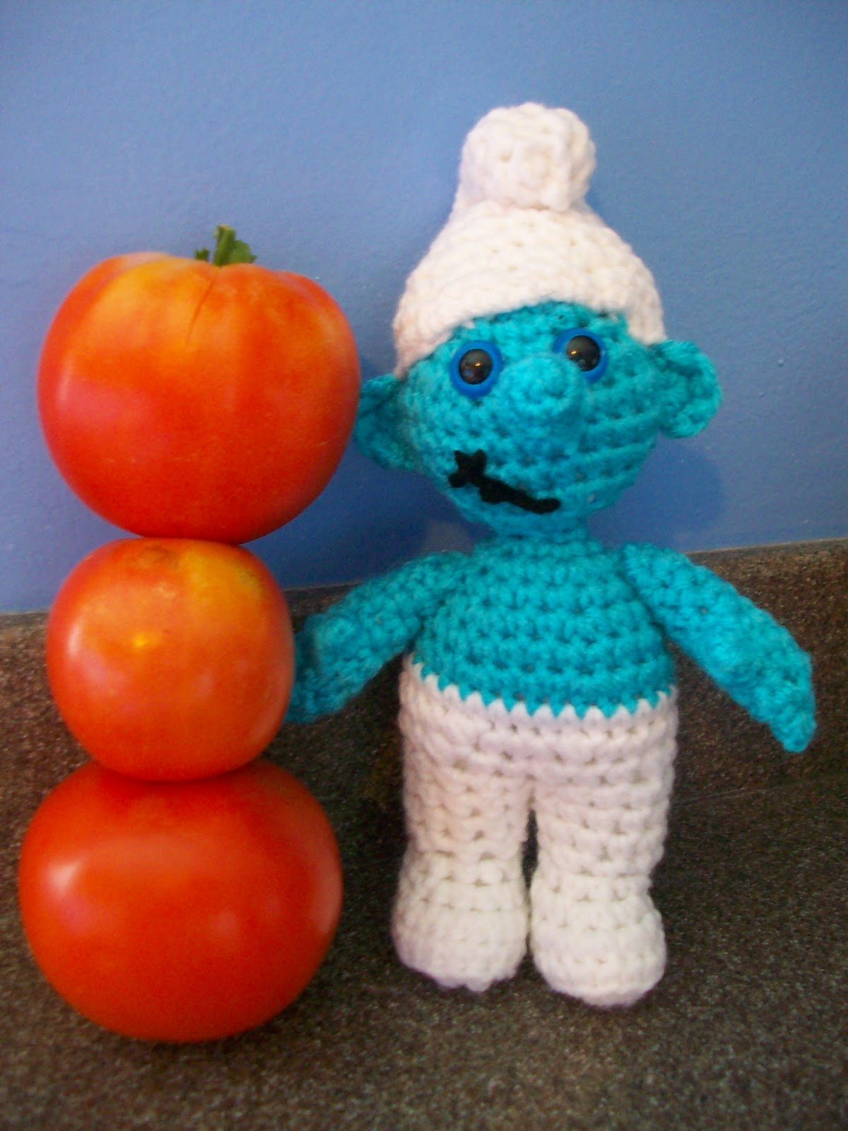 Amigurumi Stitch Calculator : My Crocheted World: Smurf Free Crochet Pattern!!