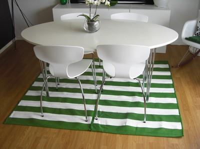 Ikea hack 2 alfombras peque as 1 grande - Alfombras baratas ikea ...