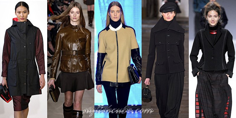Fall 2013 Fashion Jackets Trends