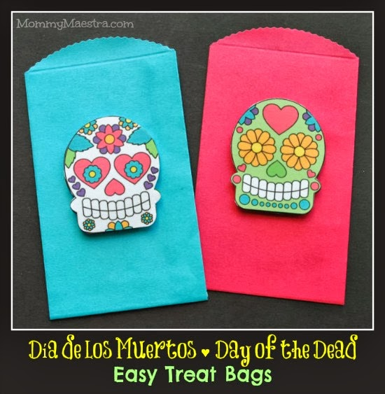 Day of the Dead treat bag