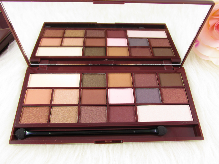 Review & Swatches: I Heart Makeup - I Heart Chocolate Eyeshadow Palette