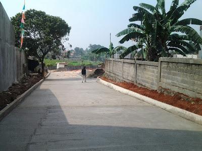 Proses Pembangunan Jalan Masuk