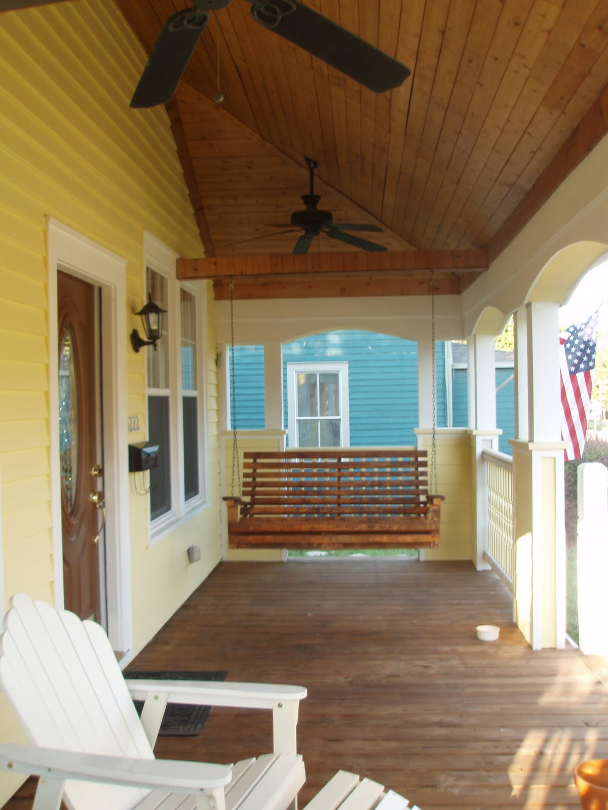1222 East Strong Street Magnificent Front Porch With