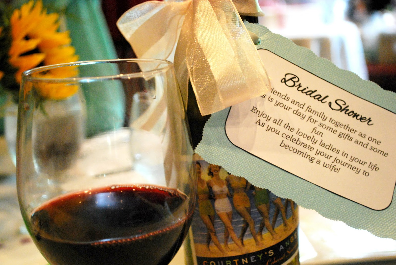 Girls Guilty Pleasures: DIY Bridal Shower Wine Poems