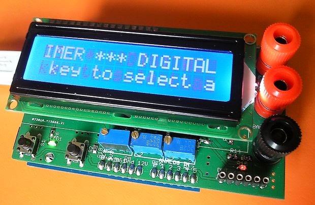 multímetro com Arduino
