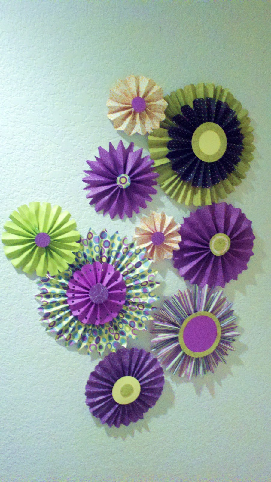 Dorm Decor Ideas Paper Flowers
