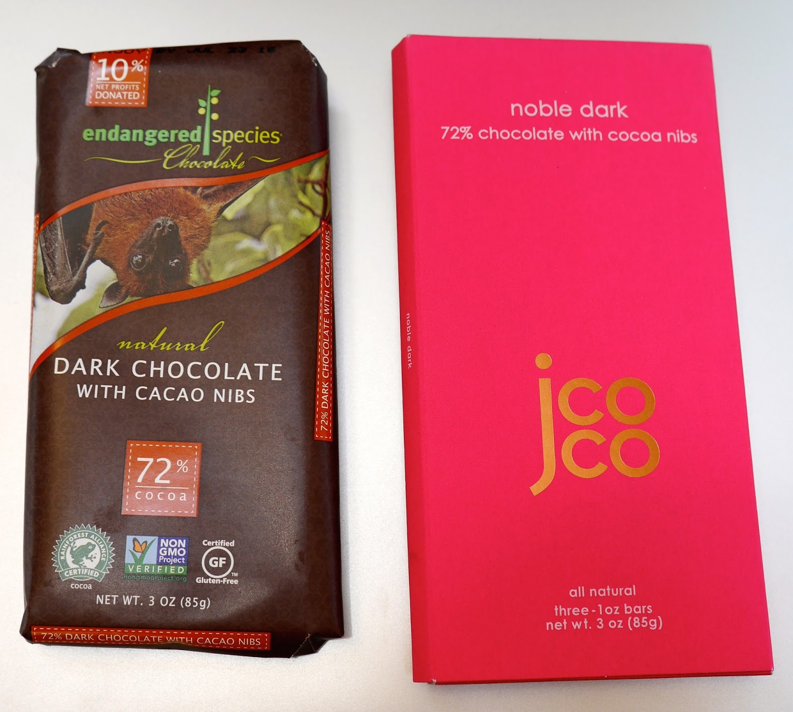 Foods For Long Life: Compare These Vegan Dark Chocolate Bars ...