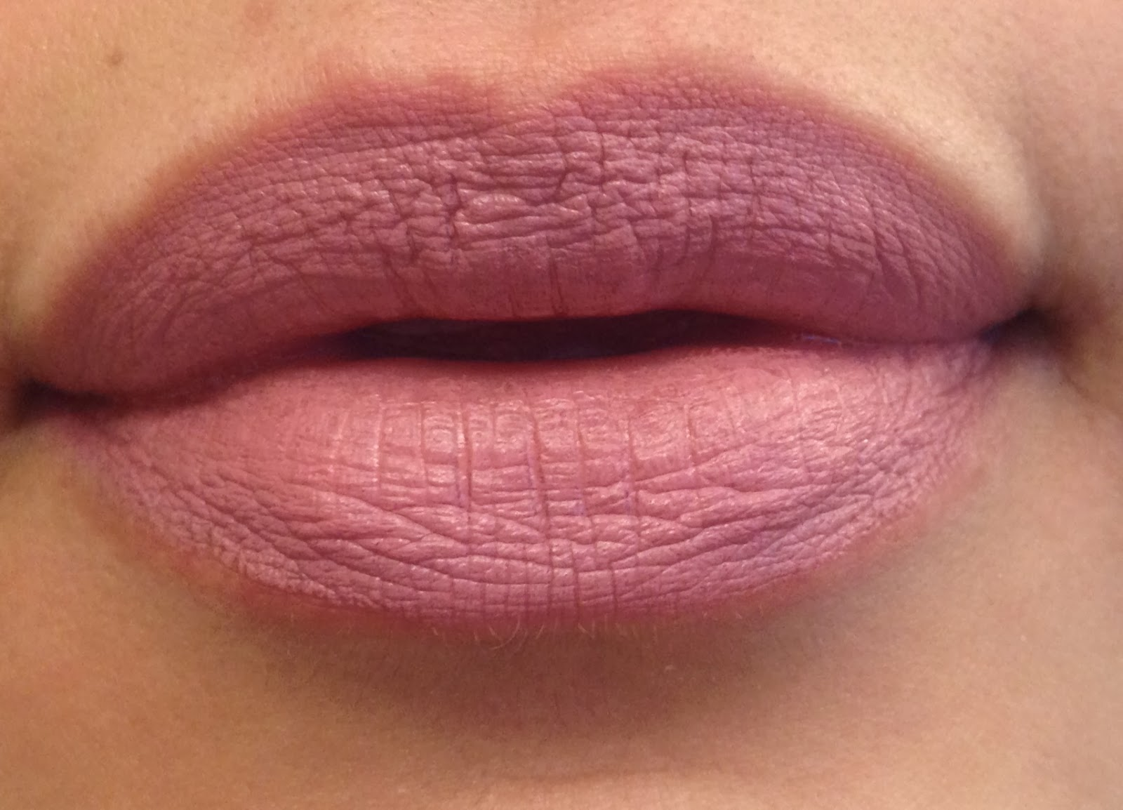 macs pink plaid lipstick swatch