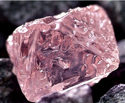 photo of argyle pink jubilee diamond mined in australia