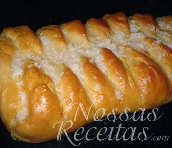 receita deliciosa de pão doce recheado com coco