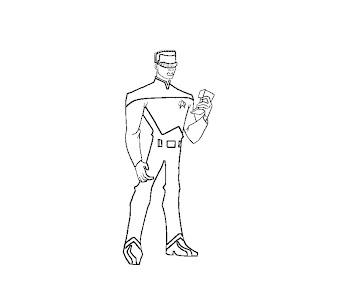 #3 Star Trek Coloring Page