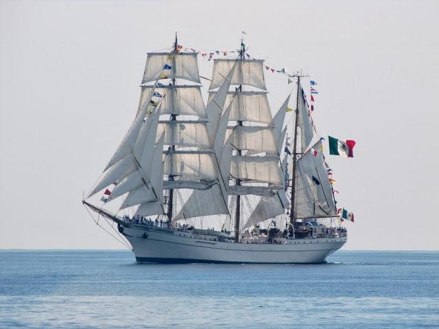 Buque Escuela Cuauhtémoc de la Marina Mexicana