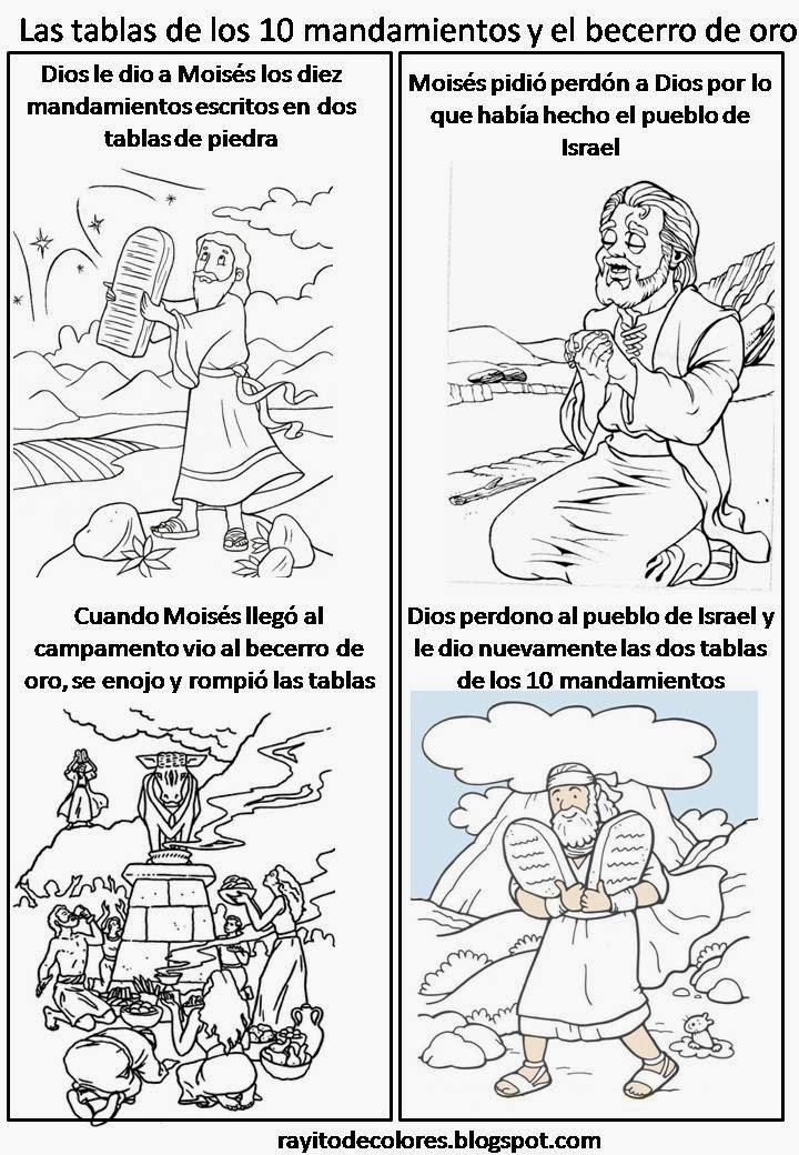 A RELIGIÓN CON DORKAS: ACTIVIDADES PARA TRABAJAR MOISES / LOS DIEZ ...
