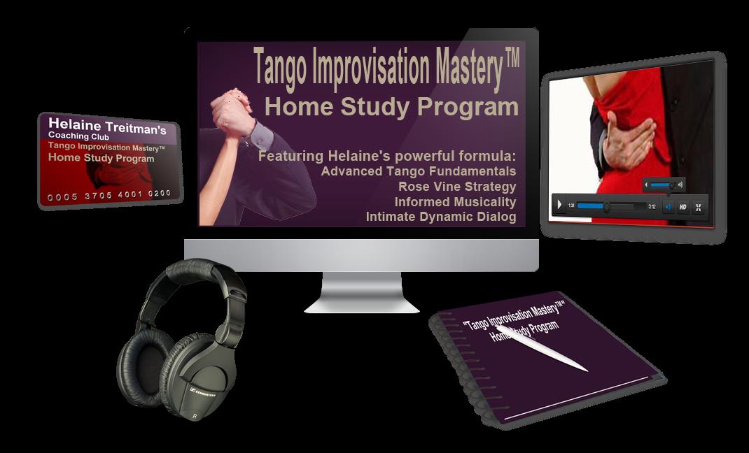 """Tango Improvisation Mastery"" Online Home Study System"