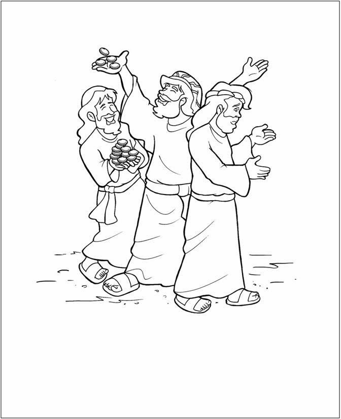 Imagenes Cristianas Para Colorear: Josue Para Colorear