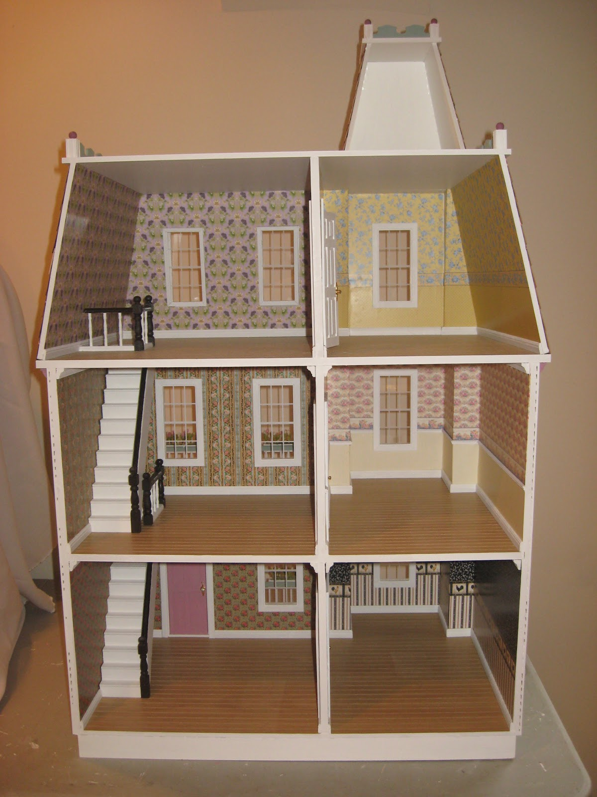 Little Darlings Dollhouses Finished Alison Dollhouse