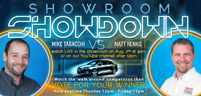 Showroom Showdown Tobacchi VS. Renko