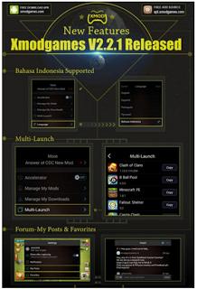 XModGames v2.2.1 apk Terbaru 2016