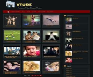 VTube Blogger Template