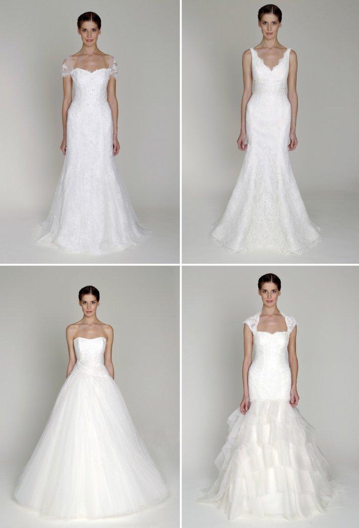 Bridal fashion show 2013 bridal gowns by monique lhuillier for Monique lhuillier bridal designers