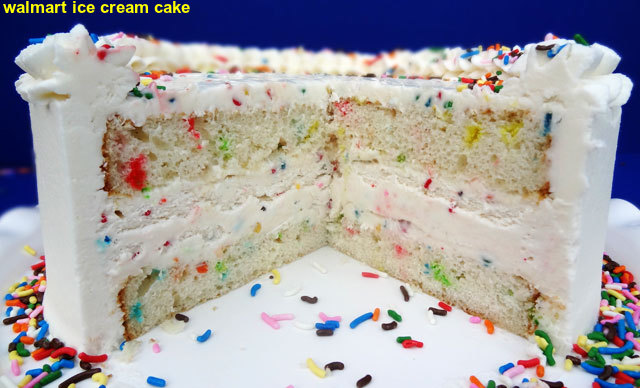 Walmart Ice Cream Cake 2015