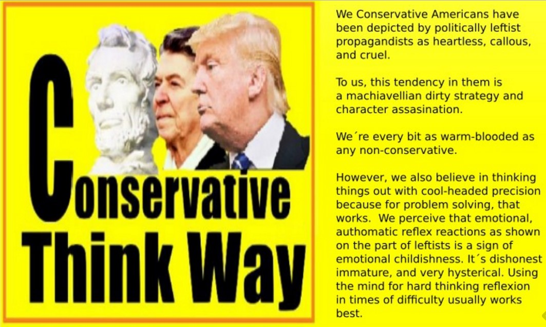 Conservative Think Way