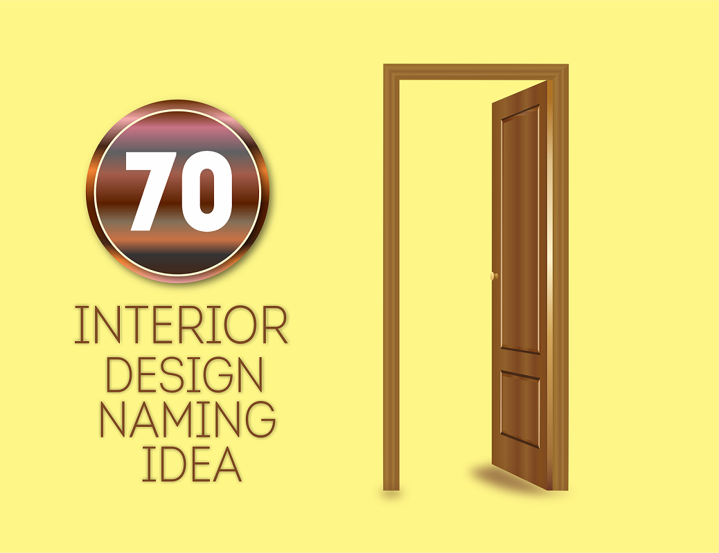 70 good interior design business names for Interior design company list