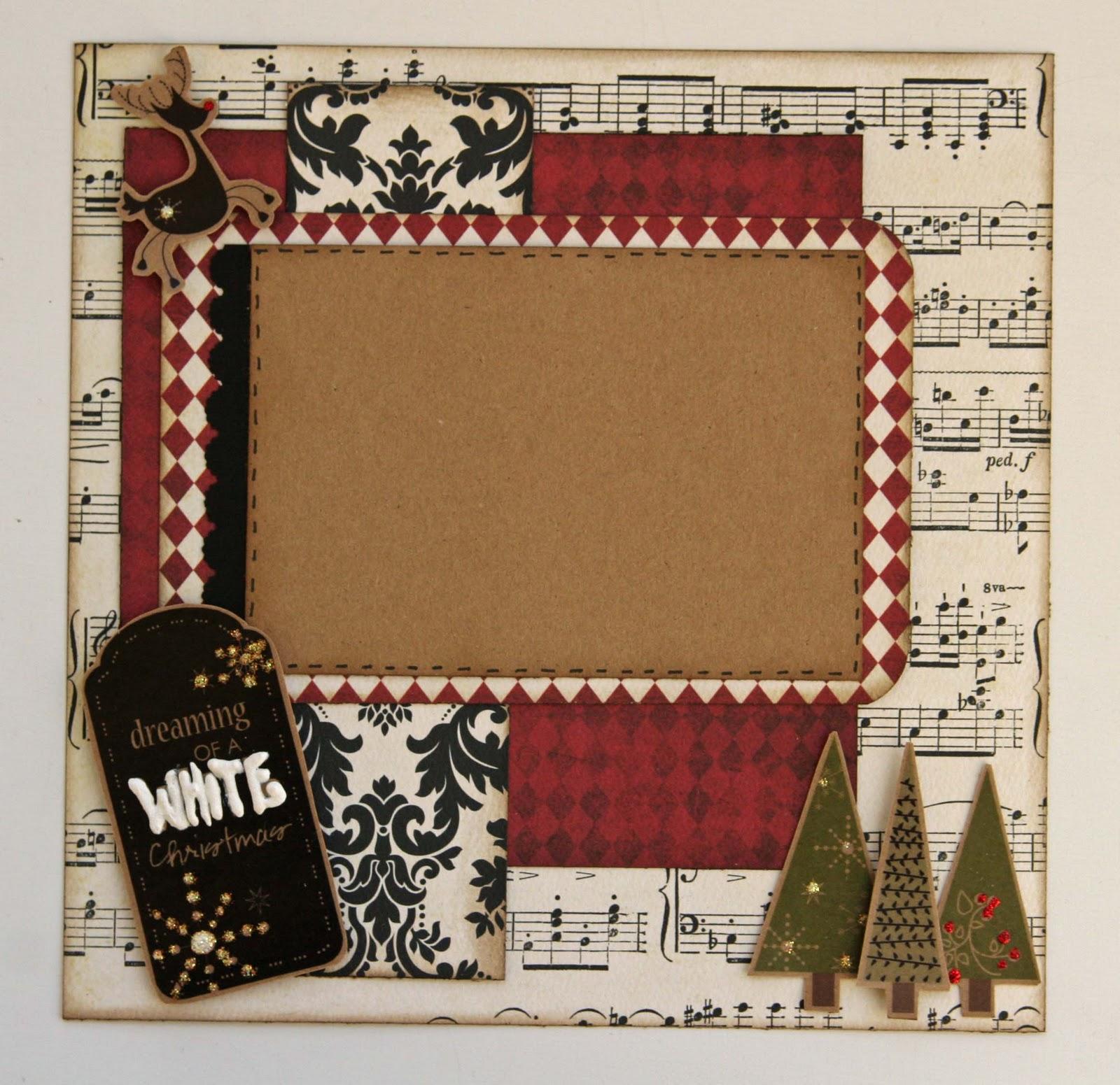 Liz 39 s paper loft monday hop with ead designs for Christmas layout ideas