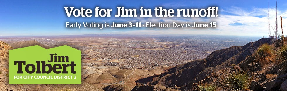 Elect Jim Tolbert for El Paso City Council, District 2