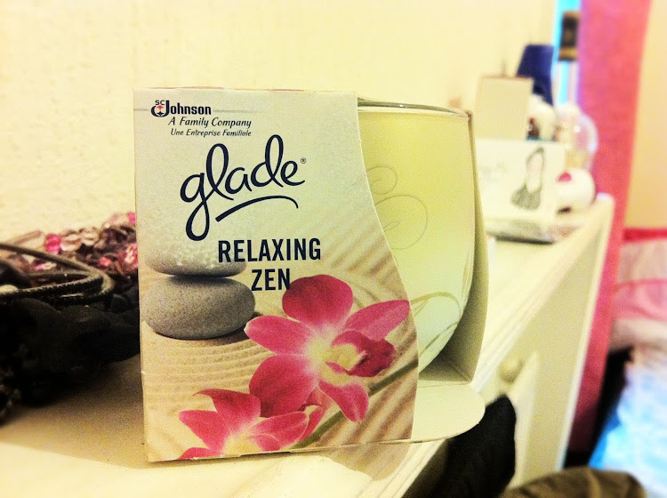 Glade Relaxing Zen Scented Candle