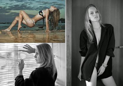 A modelo Marina Nogueira fala para o BNC como começou sua carreira no mundo da moda