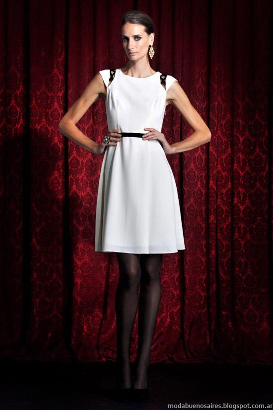 Solo Ivanka invierno 2013 moda vestidos