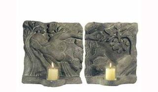 relief eva dari batu cetak resin untuk tempat lilin tempel di dinding