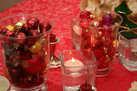 Christmas decor for table