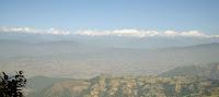 Mountain Range form Lakure Bhanjyang