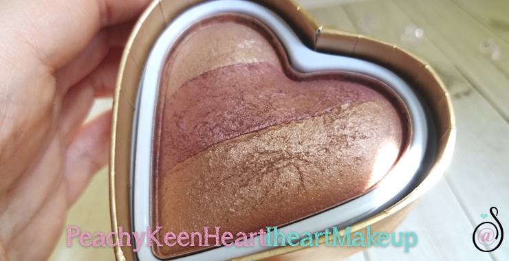 peachy keen i heart makeup blush colorete